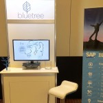 Mastering SAP Financials Conference Bluetree booth